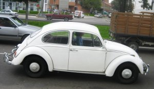 Volkswagen New Beetle 1966, Manual