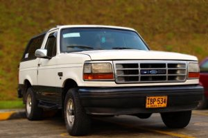 Ford Bronco 1995, Manual, 5,9 litres