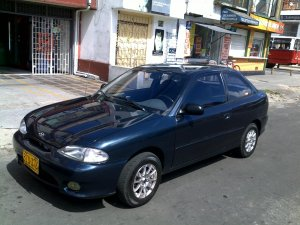 Hyundai Accent 1998, Manual