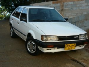 Mazda 323 1987, Manual, 1,3 litres