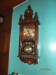 0333b3aa4248 Reloj de pared marca barak de pendulo antiguo perfecto estado a pesar de  mas de - Bogotá