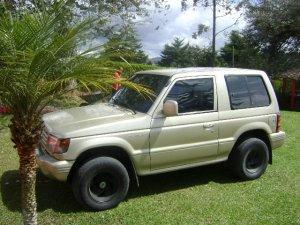 Mitsubishi Montero 1997, 2,4 litres