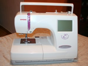 Bordadora nueva janome semi industrial memory craft 350e for Janome memory craft 350e manual
