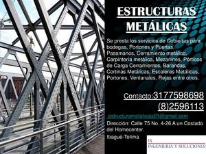 Servicio De Trabajos En Estructura Metálica Ibagué