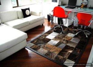 Tapetes modernos para salas comedores estudios bogota for Comedores bogota precios