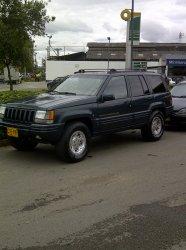 Jeep Grand Cherokee 1998, Automática, 5,2 litres