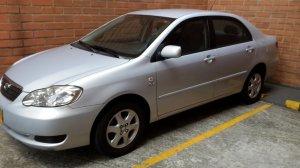 Toyota Corolla 2008, Automática, 1,6 litres