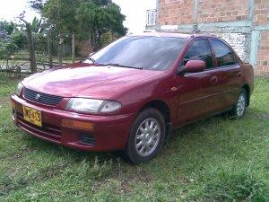 Mazda 323 1997, Manual, 1.6 litres