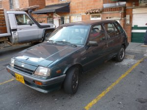 Chevrolet Spark 1994, Manual